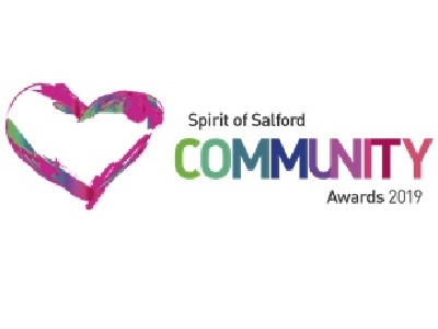 We are finalists in this year's Spirit of Salford Awards!