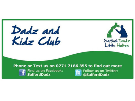 Saturday Dadz and kids - 25th August Cancelled