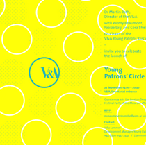 CASTING : V&A Young Patron's Circle Launch Night