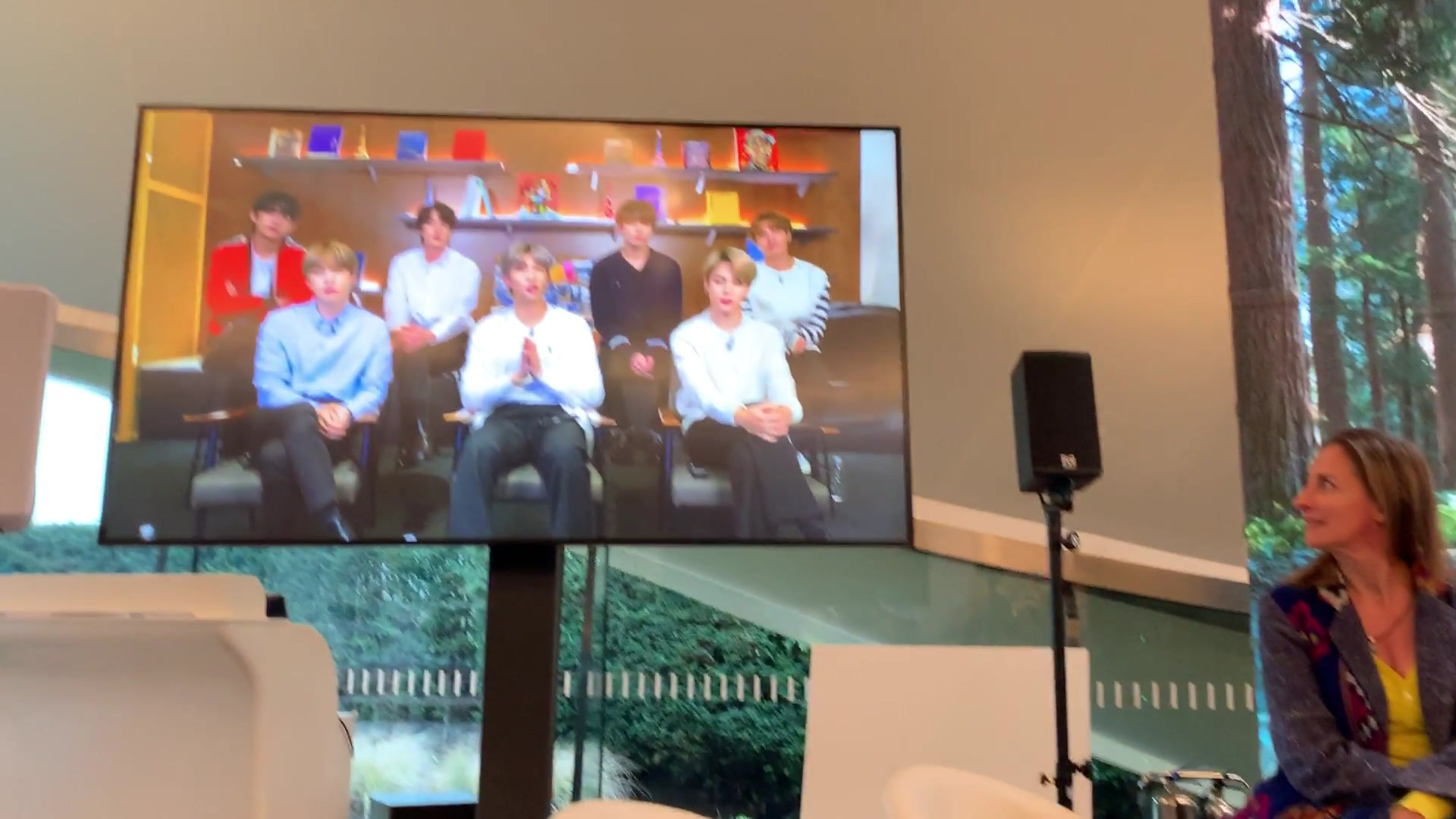 Press conference at the Serpentine Gallery London