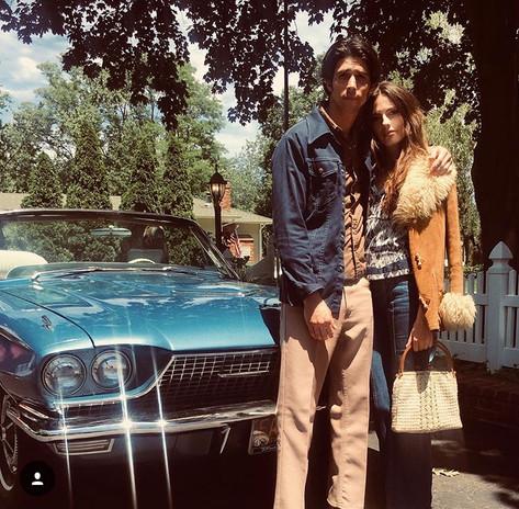 Kate Amundsen (Donna) and Anthony Ficco (Nick)