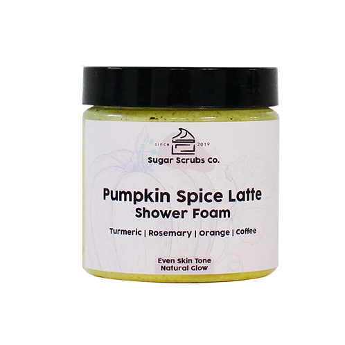 Pumpkin Spice Shower Foam