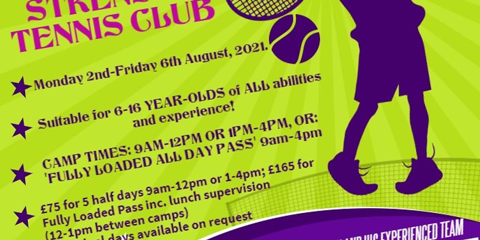 Summer Holiday Tennis Camp
