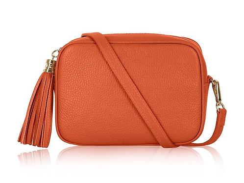Burnt Orange Camera Bag