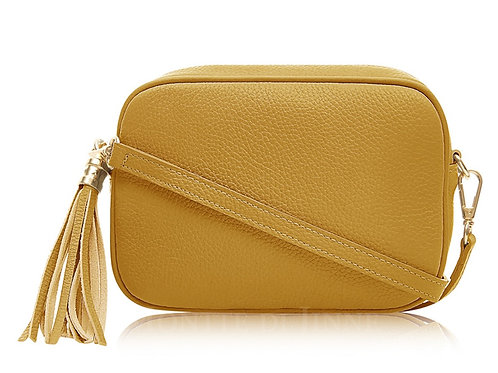 Mustard Camera Bag