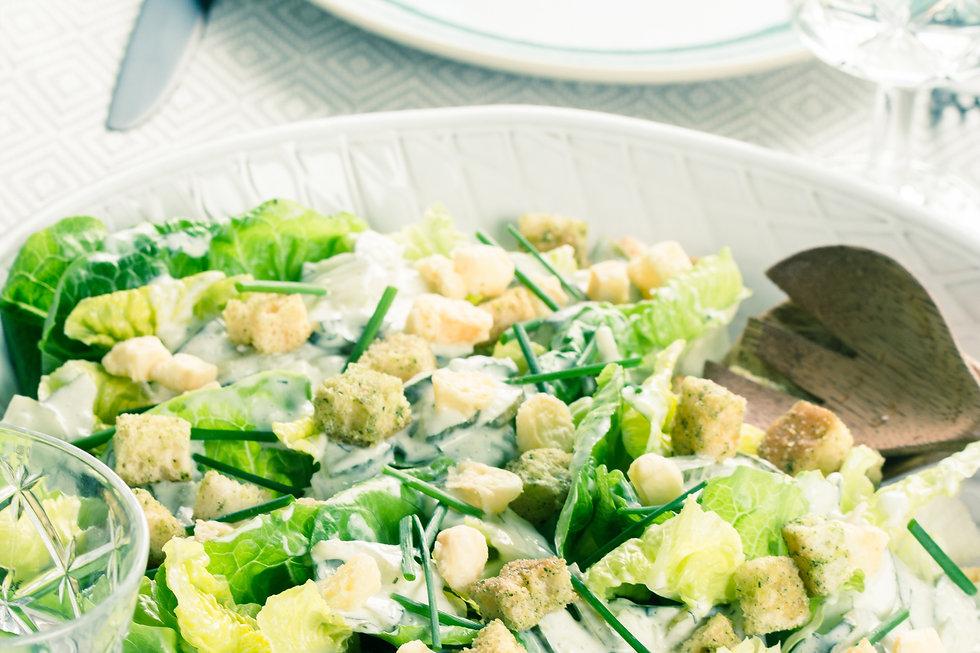 Komkommer salade deluxe