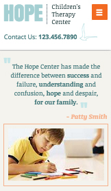 Community & Education website templates – Therapy Center