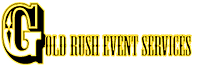 Gold Rush Event Services Logo