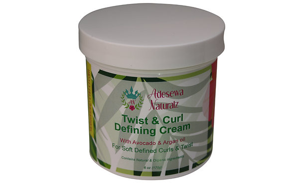Twist & Curl Defining Cream