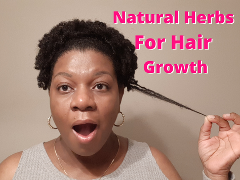 Natural Herbs & For Hair Growth