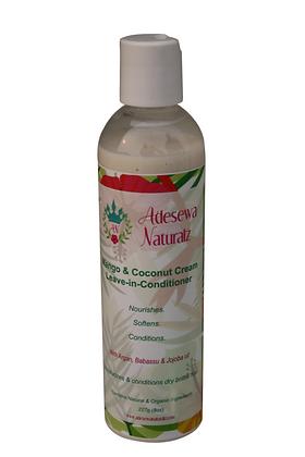 Mango & Coconut cream Moisturizing leaving-in-conditioner cream