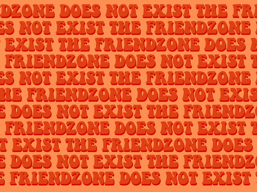 THE FRIENDZONE DOES NOT EXIST