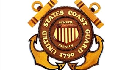 United States Coast Guard Plaque