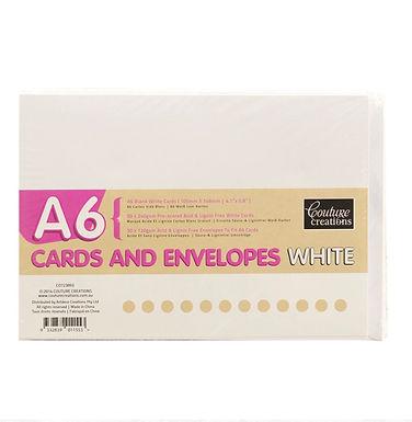 A6 CARDS & ENVELOPES