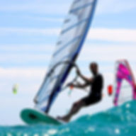 Windsurfing Ocean Waves Sports wallpaper