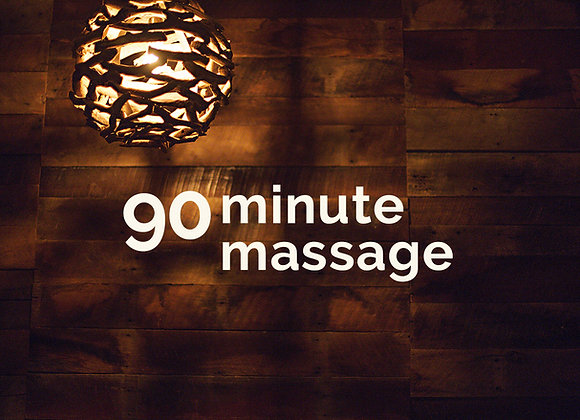 Friday 5/28 - 10am - 90min massage w/Tana