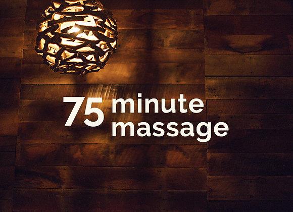 Friday 7/2 - 9:30am - 75min massage