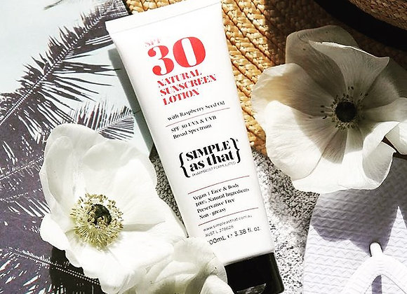 Simple As That - SPF 30 Sunscreen