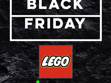 SPECIALE BLACK FRIDAY: LEGO !!!
