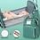 Thumbnail: Zaino da viaggio con integrata culla - fasciatoio per neonato