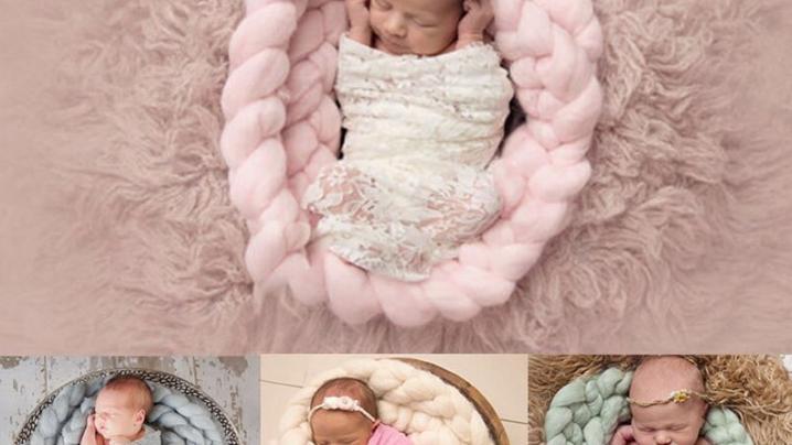 Nido Tappeto circolare neonato