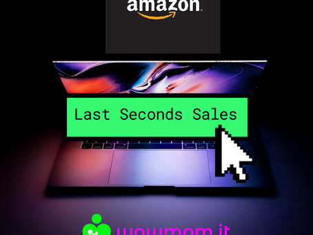 LAST SECONDS di BLACK FRIDAY su WOWMOM.IT