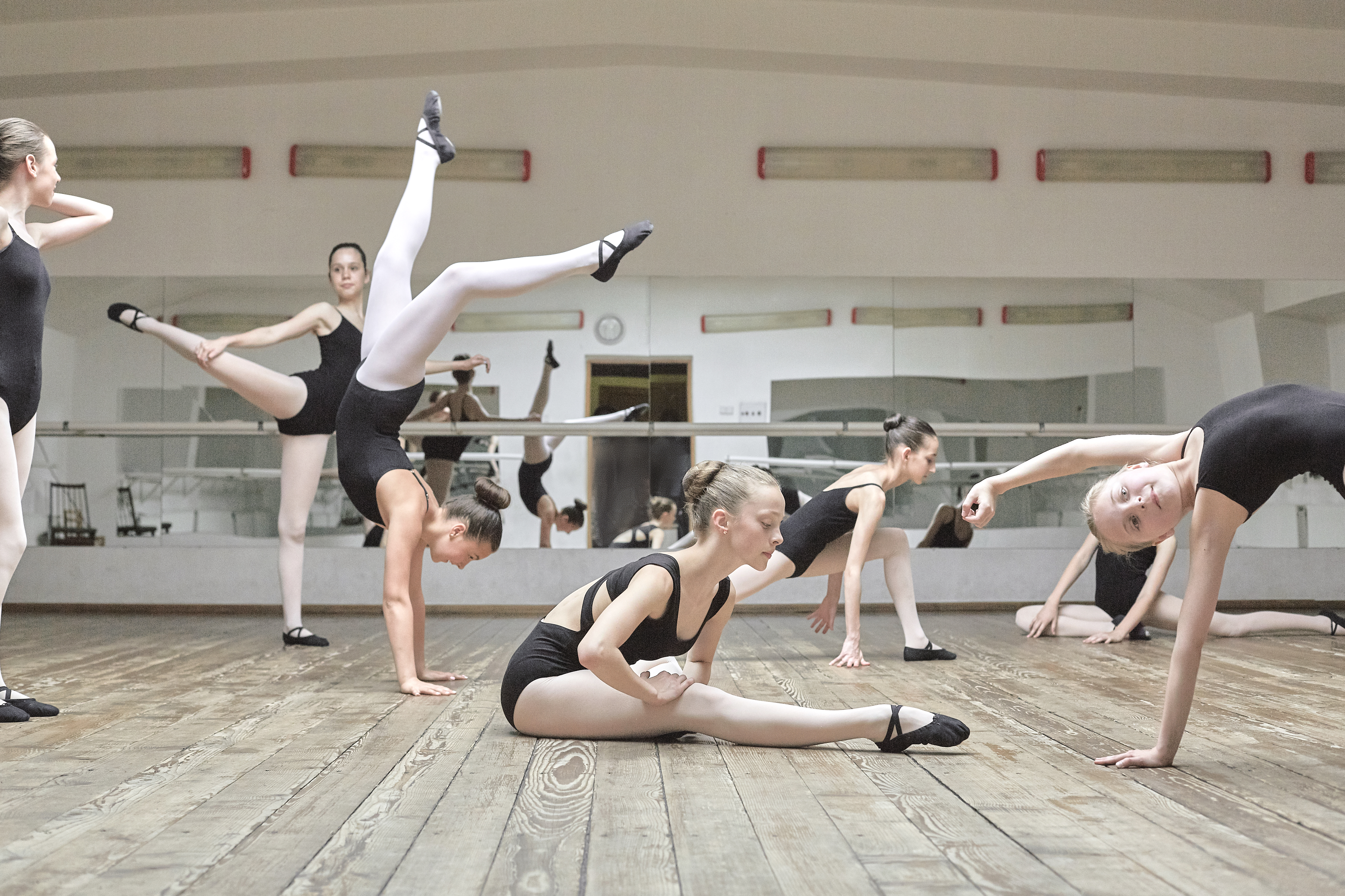 Les jeunes Ballerinas