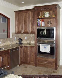 Walnut Natural finish Kitchen