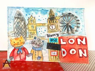 Обложка книги про Лондон