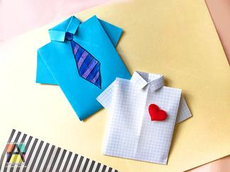 Рубашка из бумаги