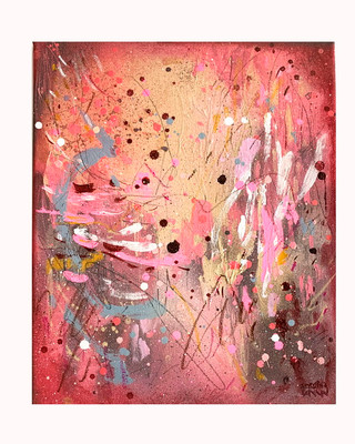 Pink Abstract III