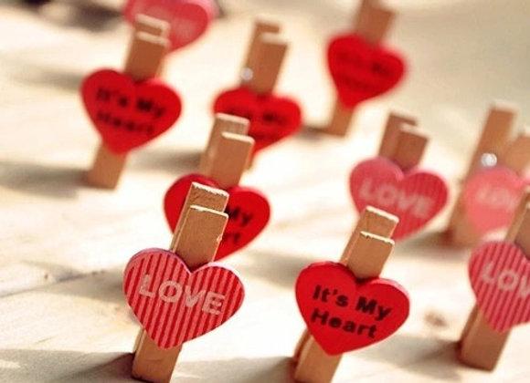 Прищепки сердечки
