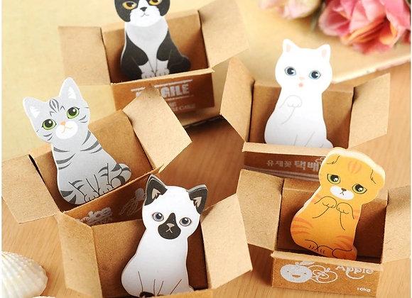 Стикеры Котики в коробке