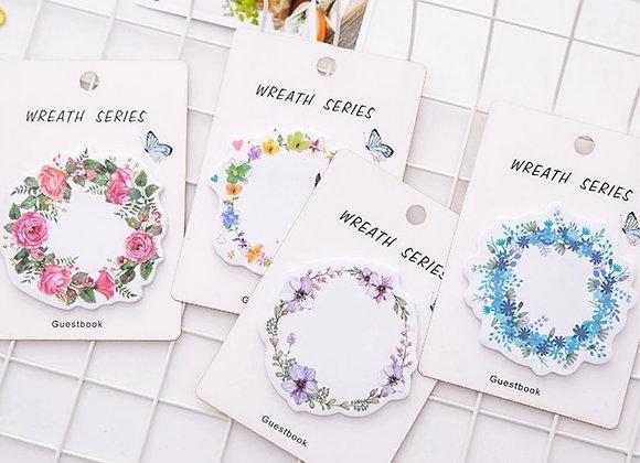 Стикеры Цветочный венок