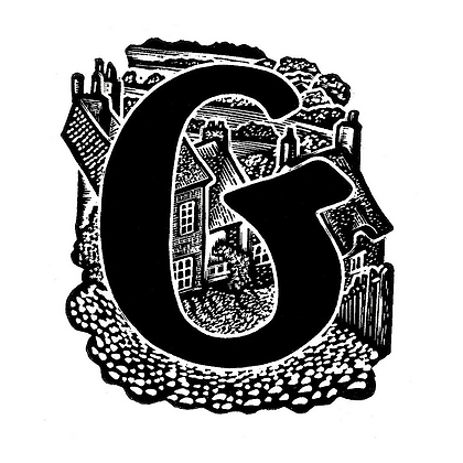 G for Gold Hill limited edition print