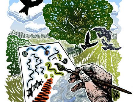 Inky chaos and curls of wood: we talk to printmaker Robin Mackenzie