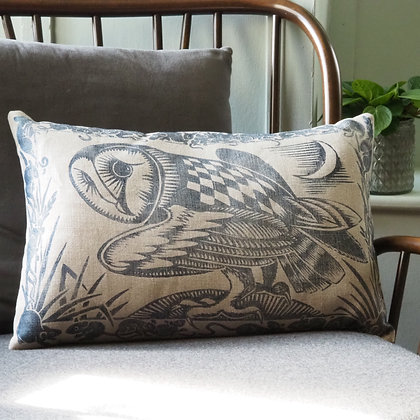 Peaceable Kingdom owl cushion