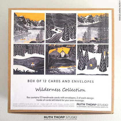 The Wilderness Collection - box of 12 cards