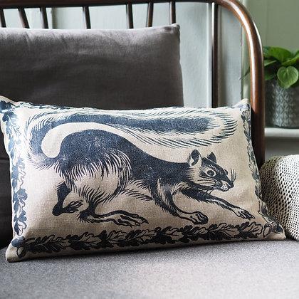 Peaceable Kingdom squirrel cushion