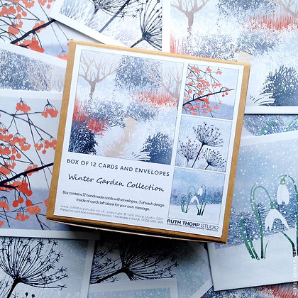 The Winter Garden Collection - box of 12 cards