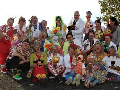 Die Westerwälder Clowndoktoren machen Mut ...