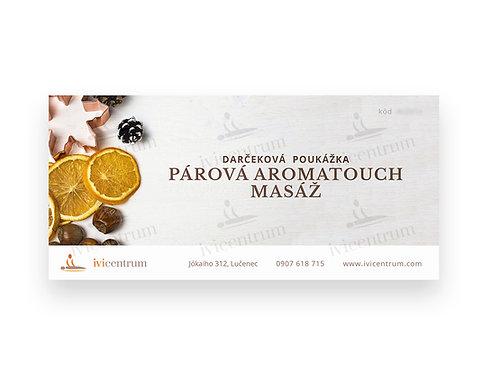 Párová aromatouch masáž hodinová