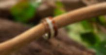 誕生木(4月サクラ)4.0mm K18+スリムアーム+スプラウトエタニティ2.0