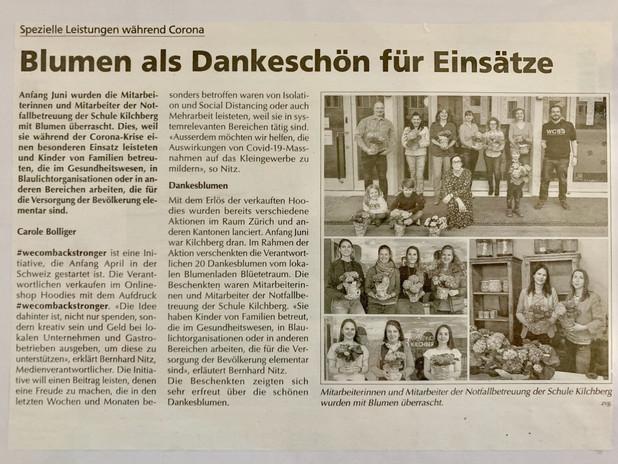 Berichterstattung Kilchberger 07/2020