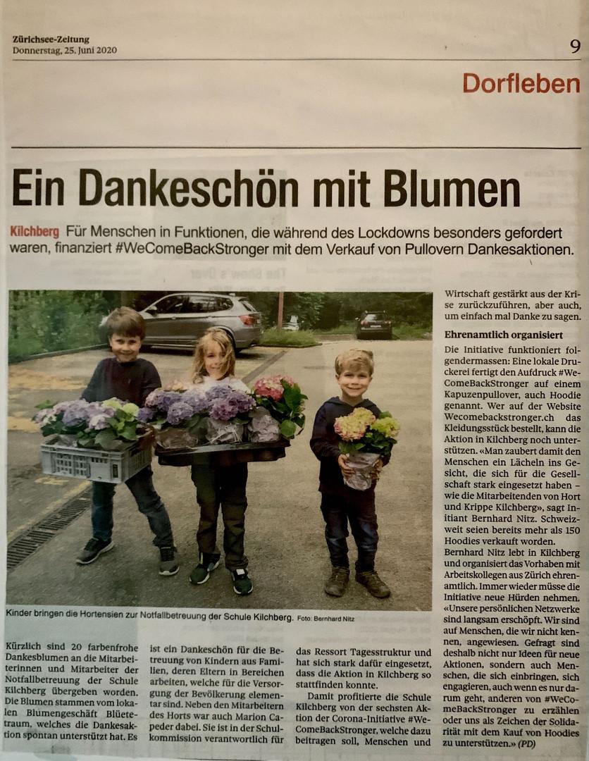 Zürichsee-Zeitung vom 25.06.2020