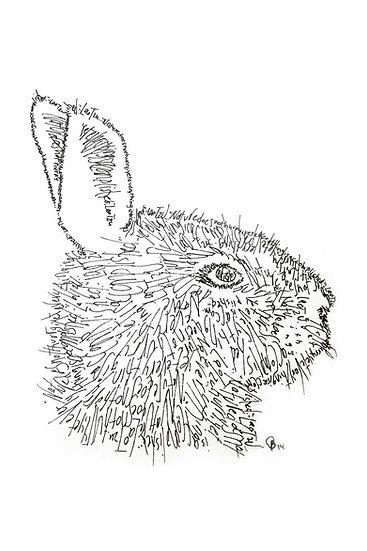 Lao Tzu Bunny (Reproduction)