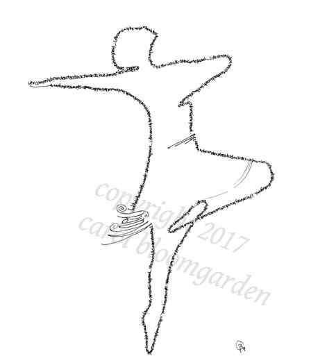Dancer with Kierkegaard  quote