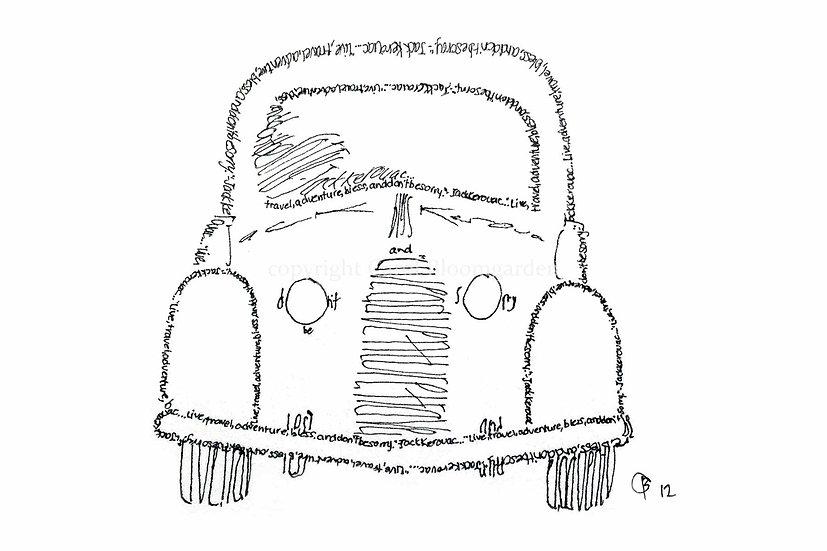 Kerouac Antique Car (Reproduction)