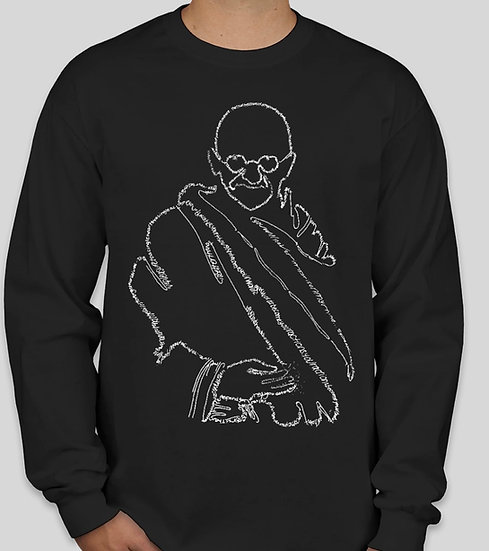 Gandhi LS Double-sided T-shirt