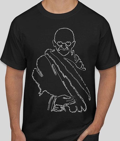Gandhi Quotes - Crewneck Short Sleeve